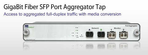 Net Optics Network Taps Gigabit Fiber Sfp Port Aggregator